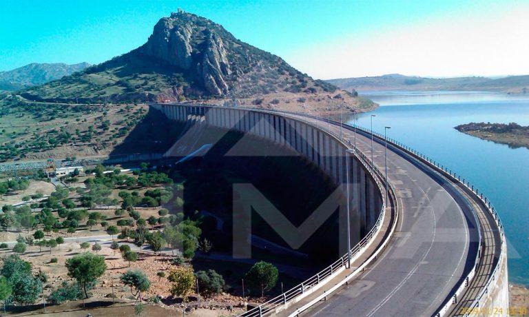 Instalación de sistema de videovigilancia de las presas de Alange y Montijo
