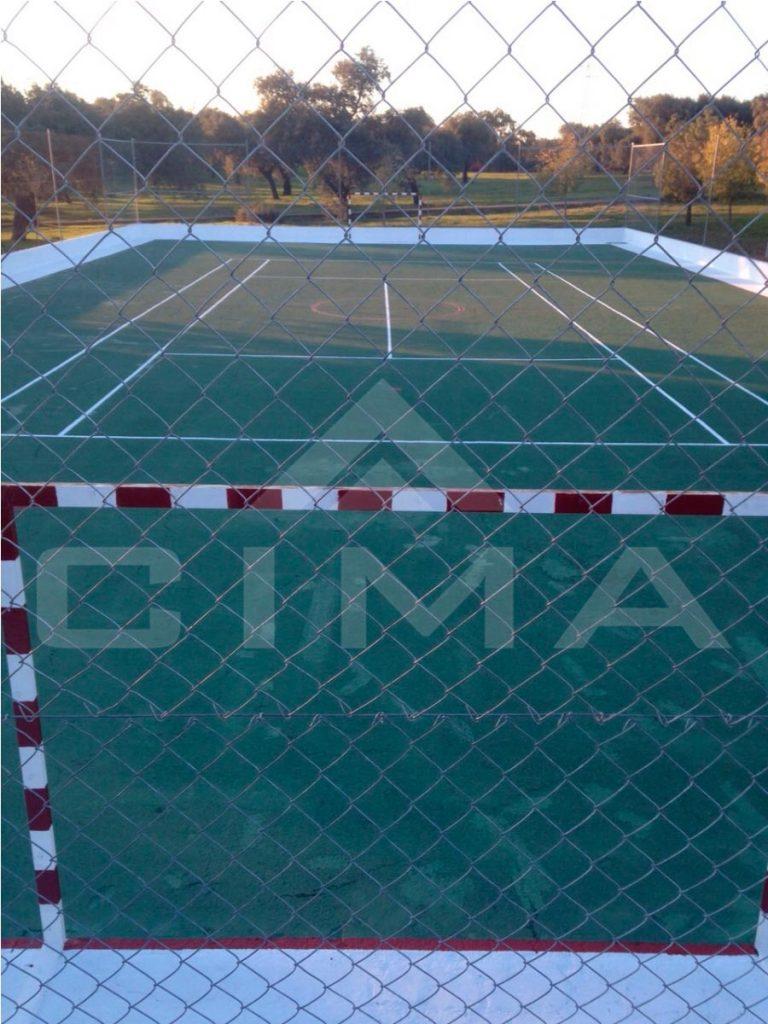 Reparación Pista Polideportiva en Rincón de Ballesteros