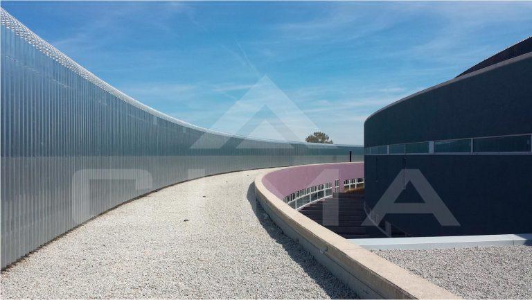 Medidas preventivas y de seguridad en las obras del nuevo hospital de Cáceres