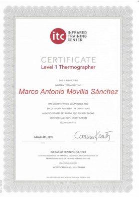 Certificado ITC